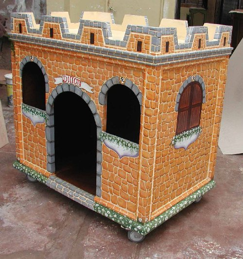 Renaissance Architectural Dog Castle Custom Dog Houses