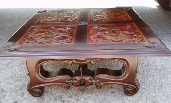 Spanish Mediterranean coffee table