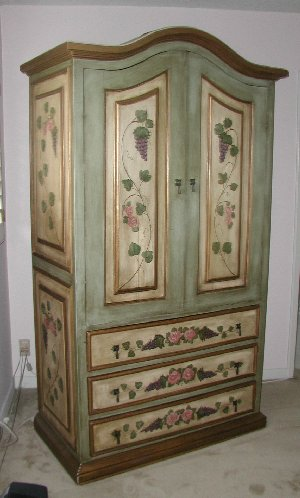 Old World Tuscan Armoire