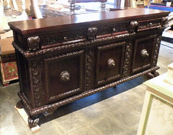 Renaissance buffet old World Tuscan furniture