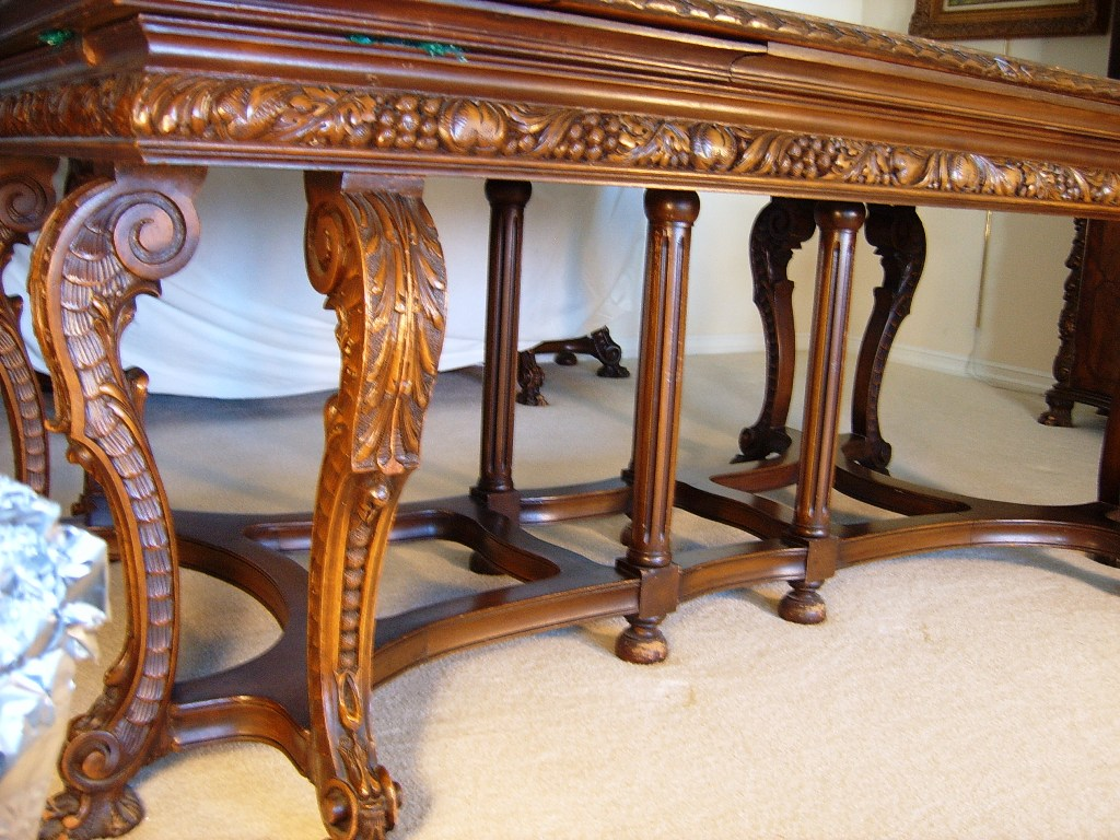 Renaissance Revival Dining Room Table