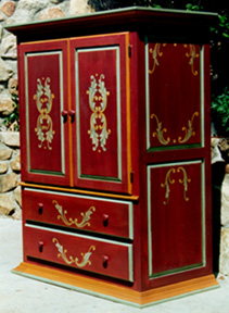 Spanish Red Armoire
